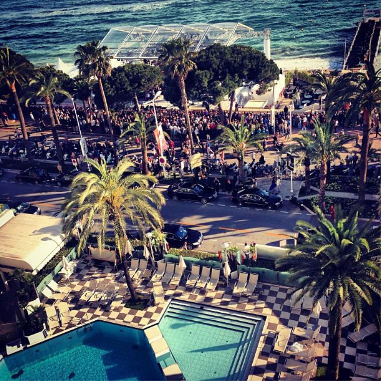 Barbara est arrivée hier à Cannes et ce soir la miss Palvin sera sur le tapis rouge du festival de Cannes!