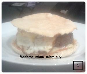 -----------------------Idée repas express n° 1 :-----------------------Hamburger maison