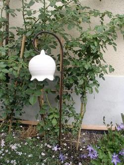 fleur suspendue *