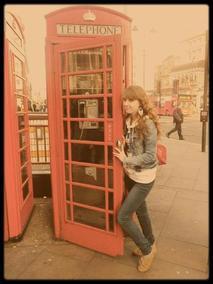 In London. ♥
