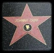 Johnny Depp a eu son Etoile