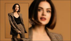 Lucy Hale a réalisé un nouveau photoshoot pour la marque Mark pour laquelle elle est égérie.