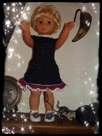 un autre ensemble pour poupée de 60cm