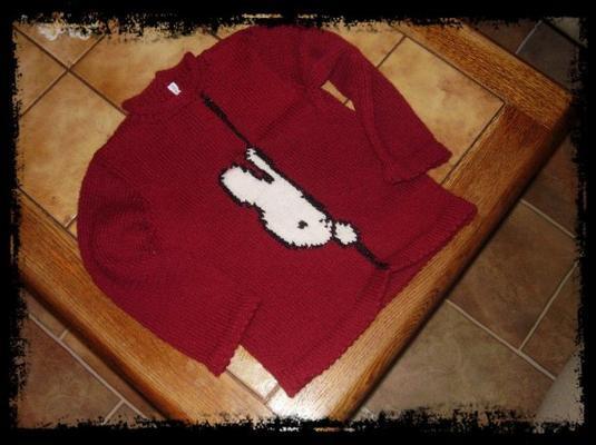 un pull pour ma petite fille
