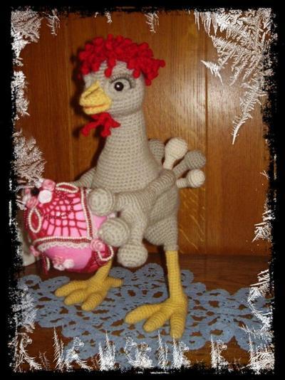 une poule pour päques