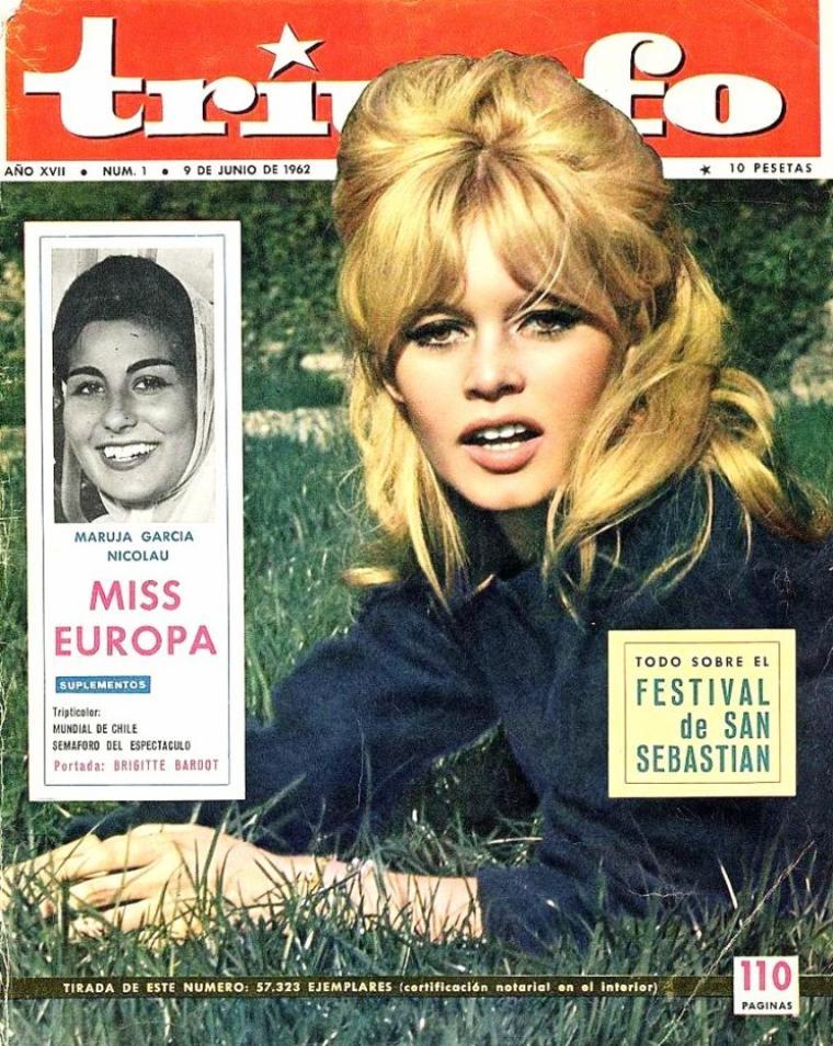 Brigitte BARDOT, née Brigitte Anne-Marie BARDOT le 28 septembre 1934 à Paris, est une actrice de cinéma et chanteuse française, une militante de la cause animale, ainsi que la fondatrice et présidente de la fondation qui porte son nom.