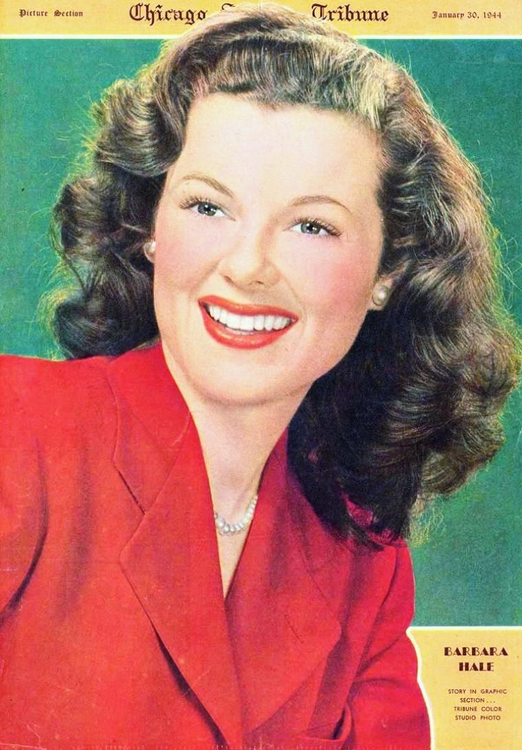 Barbara HALE est une actrice américaine née le 18 avril 1922 à DeKalb, Illinois (États-Unis).