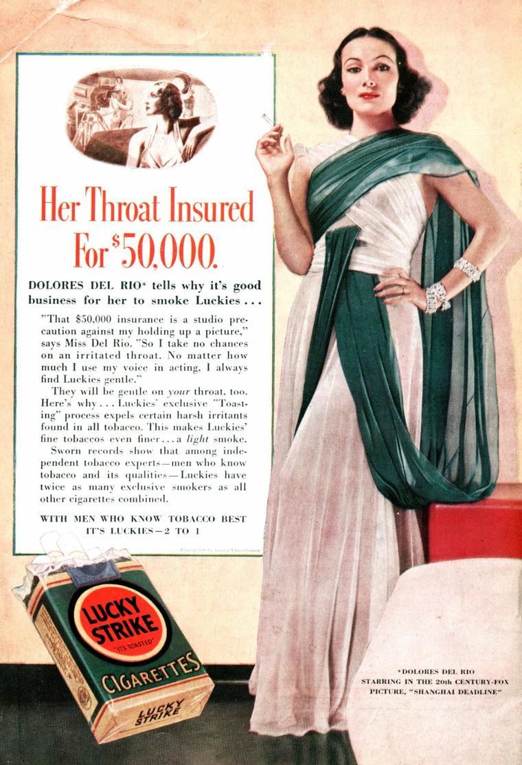 Dolores Del RIO (de son nom complet Dolores Asúnsolo y LOPEZ NEGRETE Del RIO) (3 août 1905 à Durango au Mexique - 11 avril 1983 à Newport Beach en Californie) est considérée comme l'actrice la plus représentative et la plus renommée au plan international du cinéma mexicain.