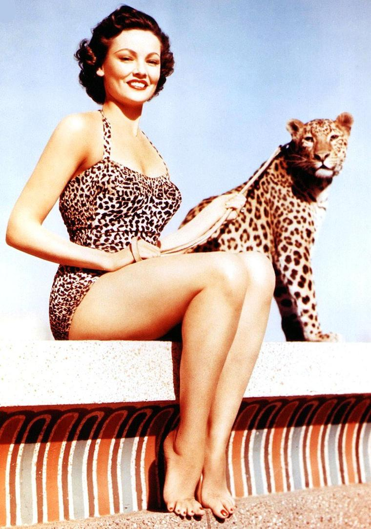 Gene TIERNEY, de son nom complet Gene Eliza TIERNEY, est une actrice américaine née à Brooklyn, New York, le 19 novembre 1920 et morte le 6 novembre 1991, à Houston, Texas.