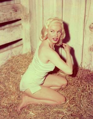 Mamie Van DOREN née Joan Lucille OLANDER le 6 février 1931 est une actrice nord-américaine et un sex-symbol.