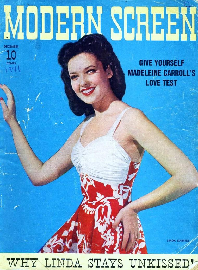 Linda DARNELL pictures (part 2).