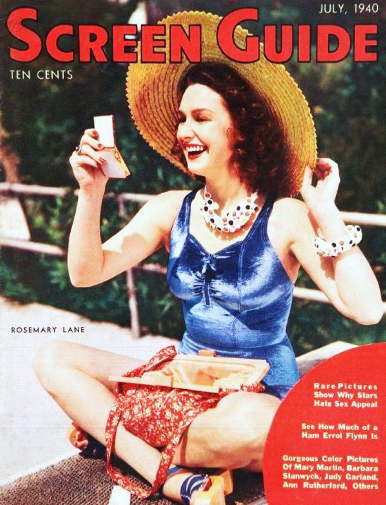 Rosemary LANE née Rosemary MULLICAN (4 Avril 1914 Indianola, IOWA - 25 Novembre 1974 Los-Angeles, CALIFORNIA) est une actrice et chanteuse américaine.