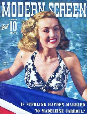 COVERS : de haut en bas : Jane POWELL / Hedy LAMARR / Esther WILLIAMS / Deanna DURBIN / Celina CELY / Carole LOMBARD / Brigitte BARDOT / Betty GRABLE