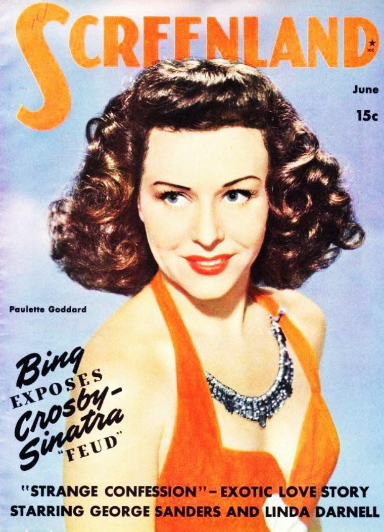 Paulette GODDARD's covers
