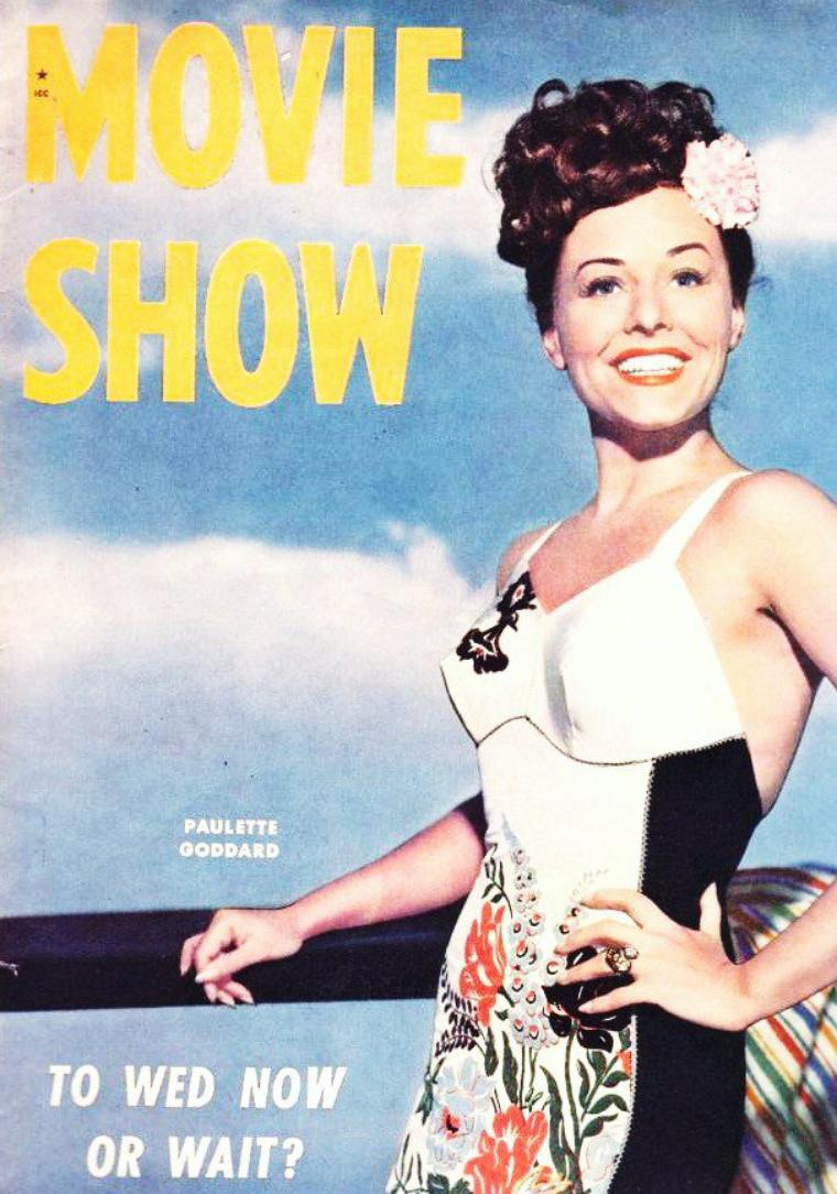 Paulette GODDARD's covers