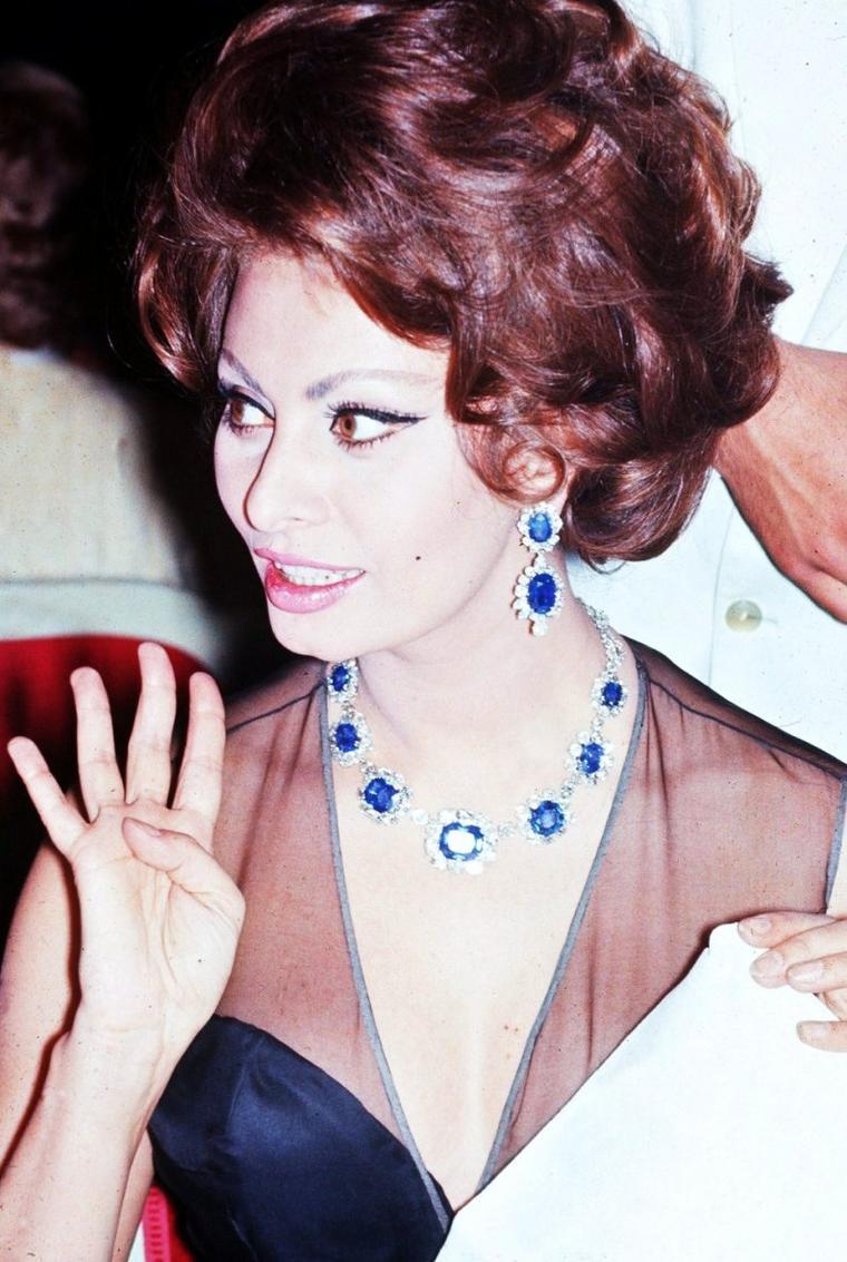 Sophia LOREN, la passion des bijoux...