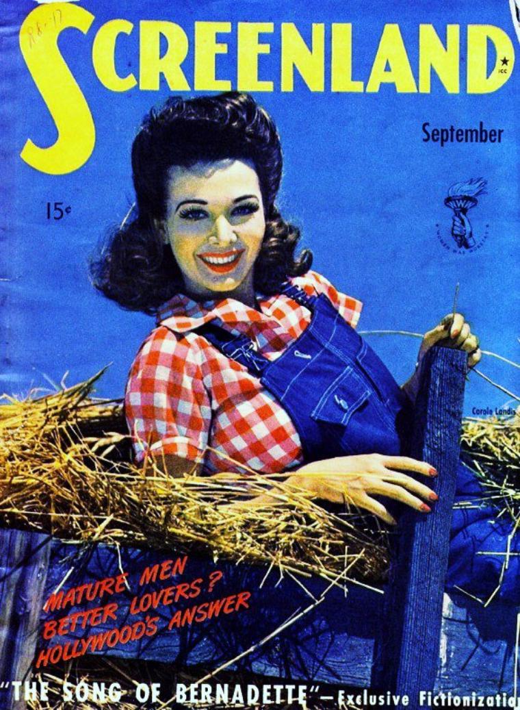 Carole LANDIS's covers