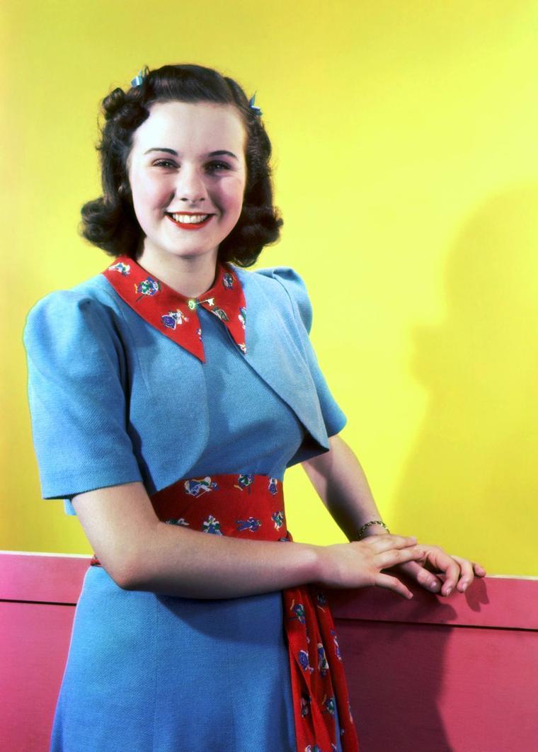 Les années 30-40 avec Deanna DURBIN...
