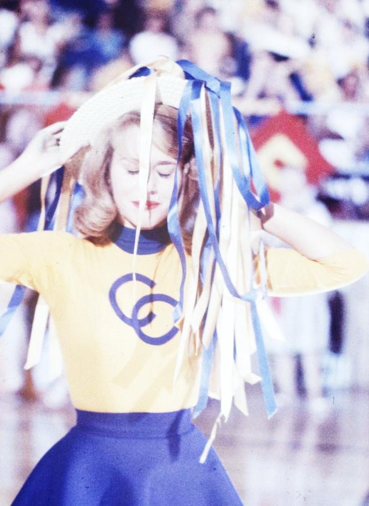 Quand Jane FONDA joue à la pom-pom girl... by Allan GRANT