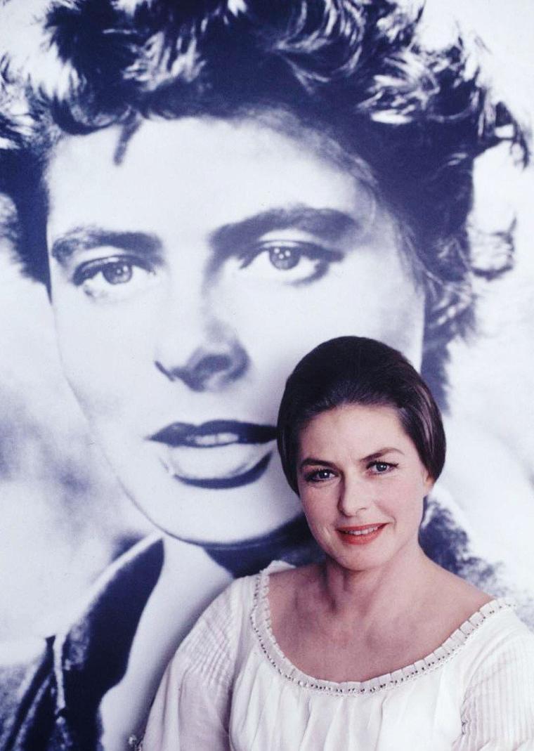 Los-Angeles 1967 / Ingrid BERGMAN... Toujours un charme fou !