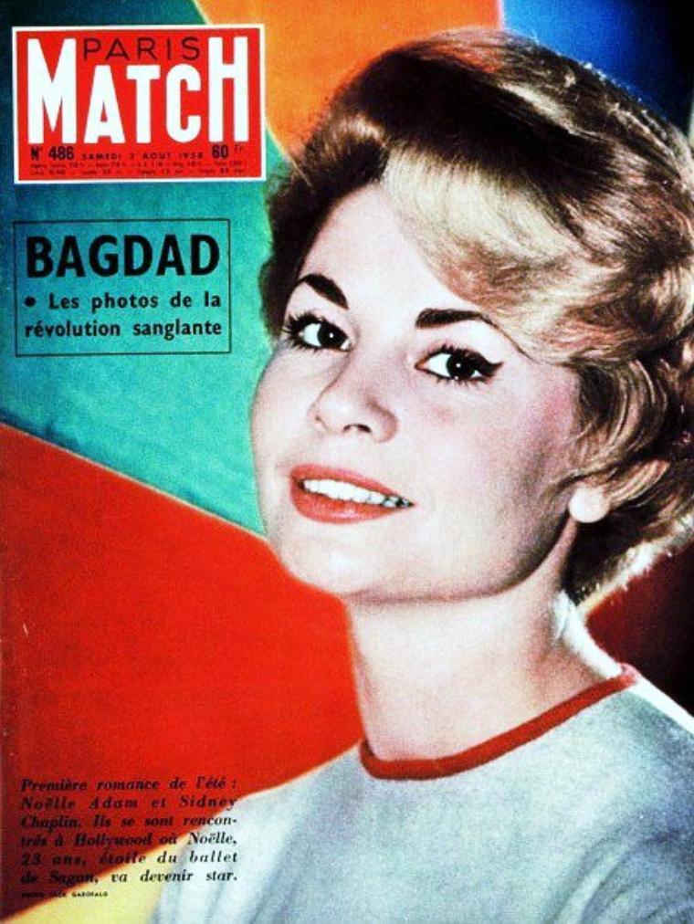 Noëlle ADAM, née Huguette Noëlle ADAM le 24 décembre 1933 à La Rochelle, est une danseuse et actrice française.