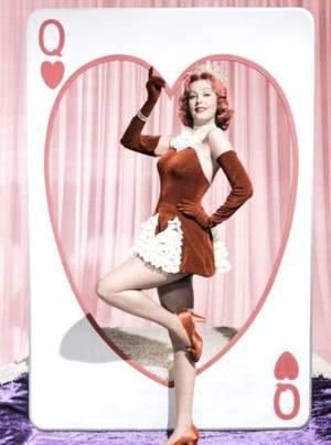 """Where is my Valentine ?..."" (14 Février) de haut en bas : Elizabeth TAYLOR / Debbie REYNOLDS / Shirley TEMPLE / Arlene DAHL / Ann MARGRET / Rhonda FLEMING / Marilyn MONROE / Greer GARSON"