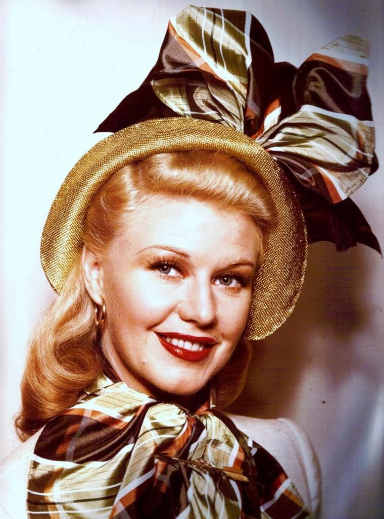 Portrait... Ginger ROGERS