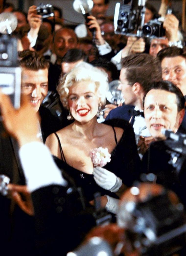 Quand les STARS sont de sortie... (de haut en bas) Jayne MANSFIELD / Ann BLYTH / Ava GARDNER / Natalie WOOD / Mala POWERS / Brigitte BARDOT / Sophia LOREN / Lucille BALL et Marjorie LORD