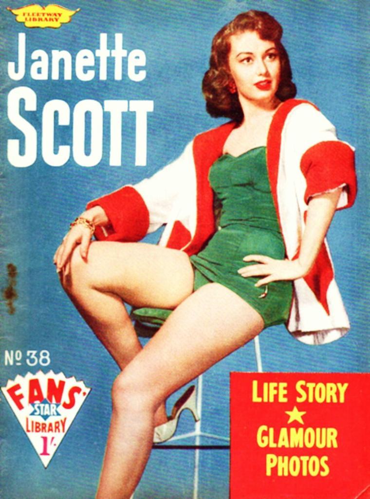 Janette SCOTT (actrice Anglaise née le 14 Décembre 1938)