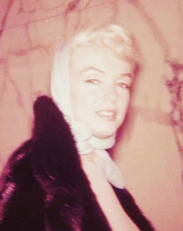 Pratique accessoire de mode : le foulard. (de haut en bas) Audrey HEPBURN / Marilyn MONROE / Grace KELLY / Elizabeth TAYLOR / Martine CAROL / Susanne CRAMER / Elke SOMMER / Julie ANDREWS