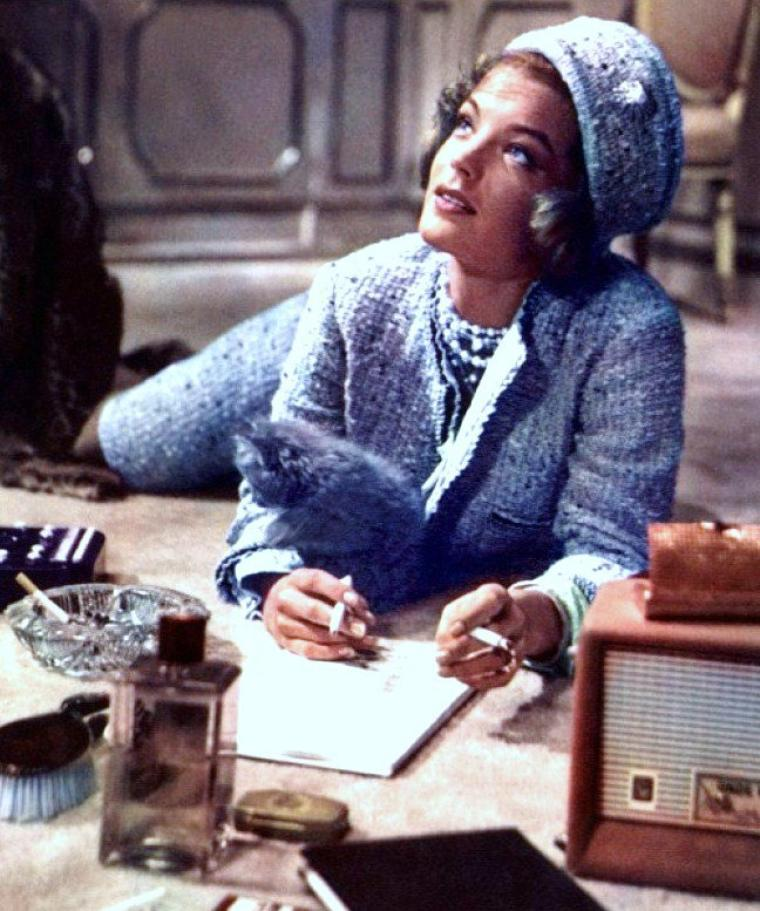 "1962 / Anita EKBERG et Romy SCHNEIDER se partagent l'affiche dans le film ""Boccace 70""."