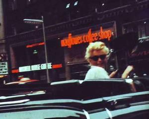 """CITATION / « Pour attirer les hommes, je porte un parfum qui s'appelle """"Intérieur de voiture neuve"""" ! » de Rita RUDNER / de haut en bas / Esther WILLIAMS (advertising) / Ann BLYTH / Brigitte BARDOT / Celeste HOLM / Diana DORS / Debra PAGET / Jayne MANSFIELD / Marilyn MONROE"""