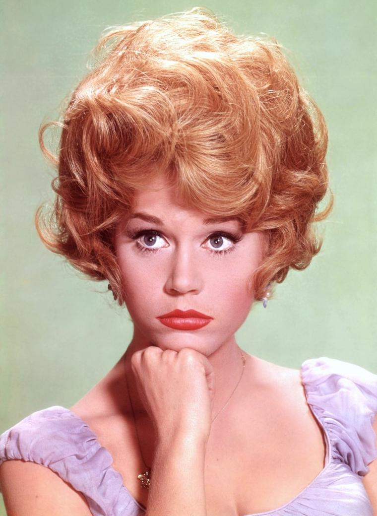 Portrait... Jane FONDA 50's