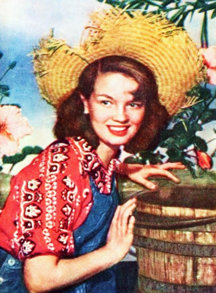 INEDIT / Joan EVANS est une actrice Américaine née le 18 Juillet 1934 à New-York ; elle débute au cinéma en 1949 aux côtés de Farley GRANGER . C'est en 1961, qu'elle décide d'arrêter sa carrière pour se consacrer à sa vie familiale...