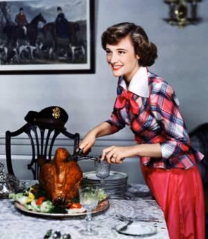 BON APPETIT à toutes et à tous !... avec Phyllis THAXTER (c'est sûr, il va falloir prévoir du monde...).
