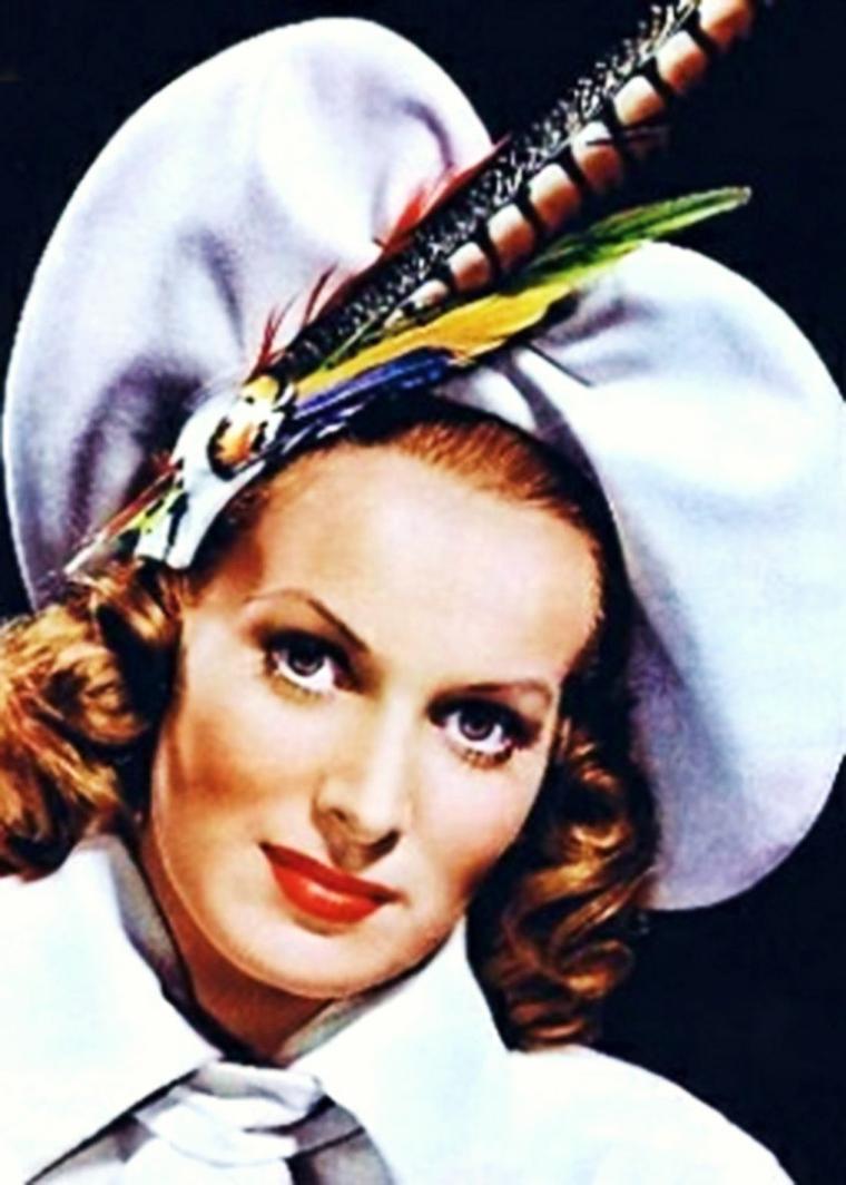 """CITATION / """"Il y a trois choses qu'une femme est capable de réaliser avec rien : un chapeau, une salade et une scène de ménage"""".    Mark TWAIN / de haut en bas / Lucille BALL / Audrey HEPBURN / Maureen O'HARA / Brigitte BARDOT / Shirley MacLAINE / Suzy PARKER / Stella STEVENS / Natalie WOOD"""