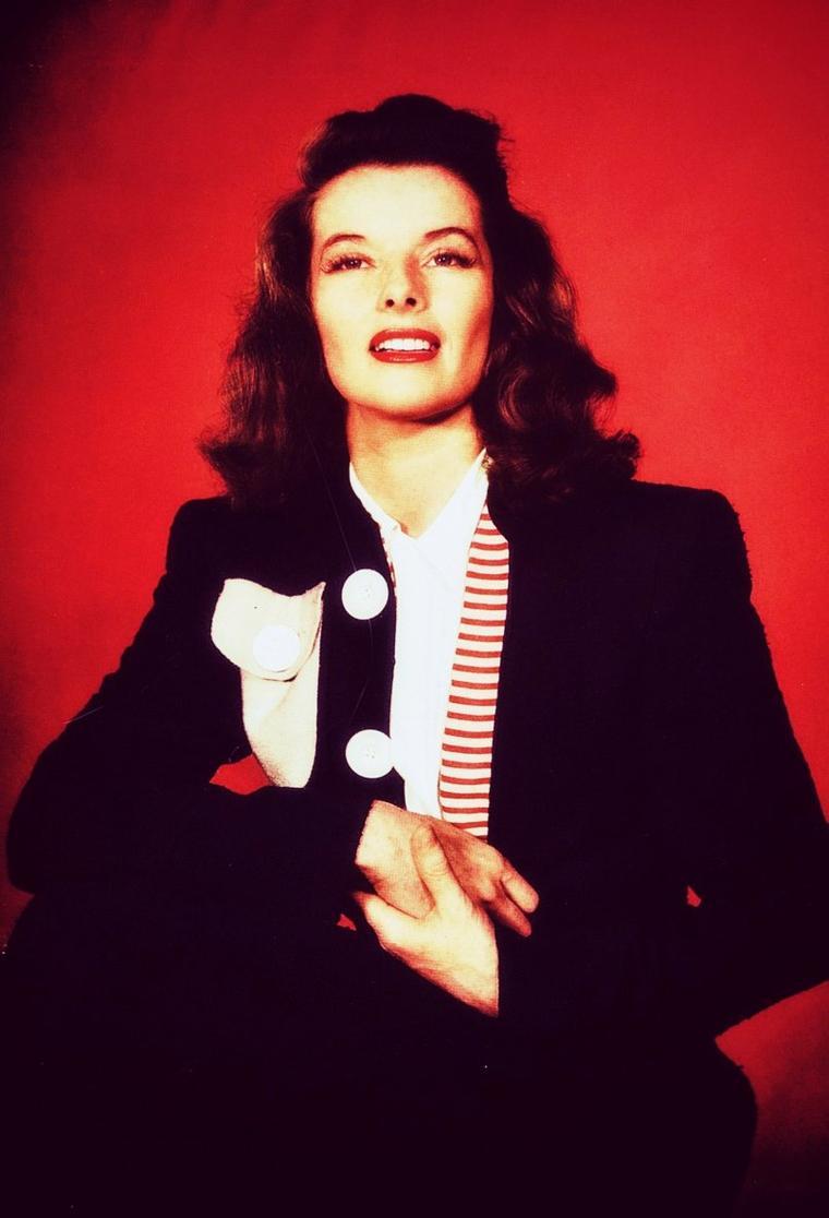 Portrait... Katharine HEPBURN 40's