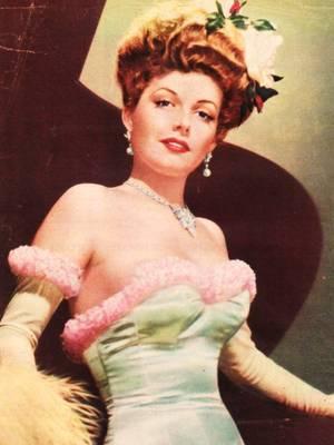 VINTAGE-FASHION avec... Ann SHERIDAN (rares pix).