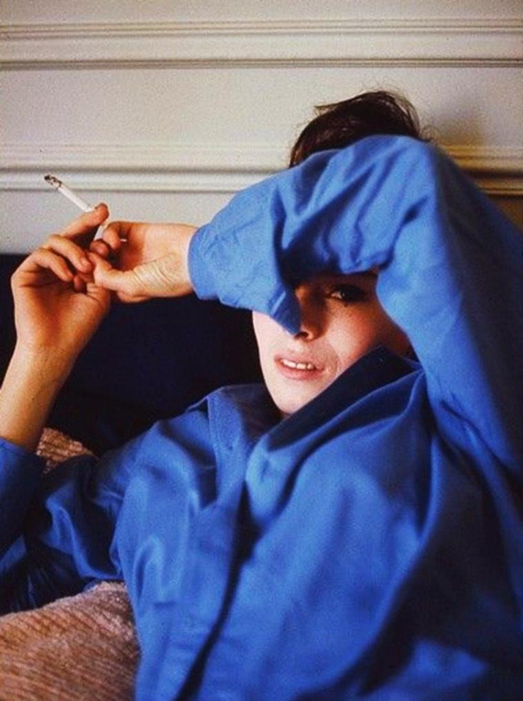 1965 / Géraldine CHAPLIN vue par Milton GREENE.