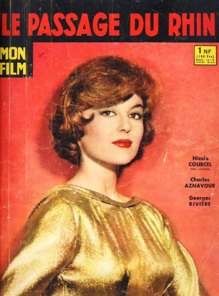 """NEWS / Nicole COURCEL, de son vrai nom Nicole Marie-Anne ANDRIEU, est une actrice française, née le 21 octobre 1931 à Saint-Cloud (Hauts-de-Seine). / MINI-BIO / Après le Cours SIMON elle est remarquée par Jacques BECKER qui lui fait faire des essais pour """"Antoine et Antoinette"""" avant de lui offrir son premier grand rôle au cinéma en 1949 dans """"Rendez-vous de juillet"""". Elle prendra à la scène le nom de famille de son personnage, et devient « Nicole COURCEL ». Elle tournera ensuite aux côtés de Jean GABIN et devient une des vedettes du cinéma français des années 1950 et 1960. Dans les années 1970, elle joue dans des téléfilms : """"Les Boussardel"""" de René LUCOT, """"Madame Bovary"""" de Pierre CARDINAL, """"Credo"""" de Jacques DERAY, """"Le Milliardaire"""" de Jacques ERTAUD, ou la série """"Les Thibault"""". On la voit également au théâtre comme dans """"Good-Bye, Charlie"""" de George AXELROD. Elle est la mère de Julie ANDRIEU, animatrice de télévision et critique gastronomique au Guide LEBEY. Elle a publié aux Éditions Robert LAFFONT en 1980 """"Julie tempête"""", un recueil de souvenirs dédié à sa fille."""