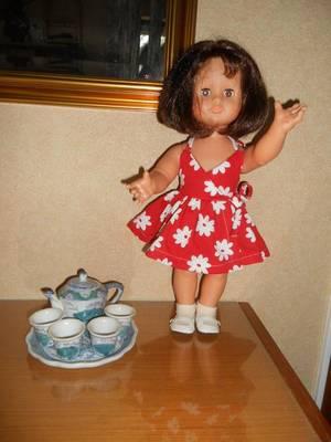 2007 juillet /robe portefeuille pour Emilie