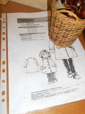 2017 novembre / Manteau pour Emilie