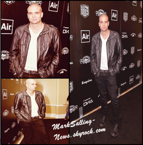 06/09/12 Mark était présent au château Marmont pour la 5eme édition de la In Touch Weekly's  Icons + Idols 2012  puis pour la 5eme edition Annual House of Hype Music Awards