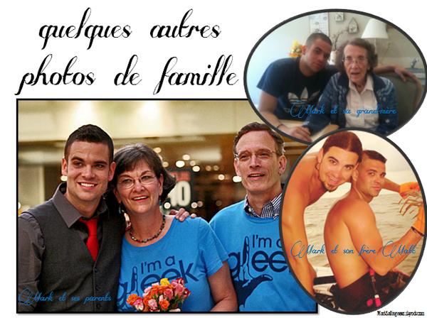 12/09/12 Mark a posté cette photo en compagnie de ses frères et soeurs sur Twitter + quelques autres photos de famille