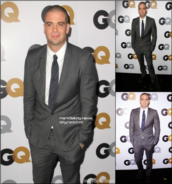 13/11/12 Mark était présent au GQ Men of the Year Party au Chateau Marmont à Los Angeles + une photo de Mark sur le set de Glee en compagnie de Jacob Artist