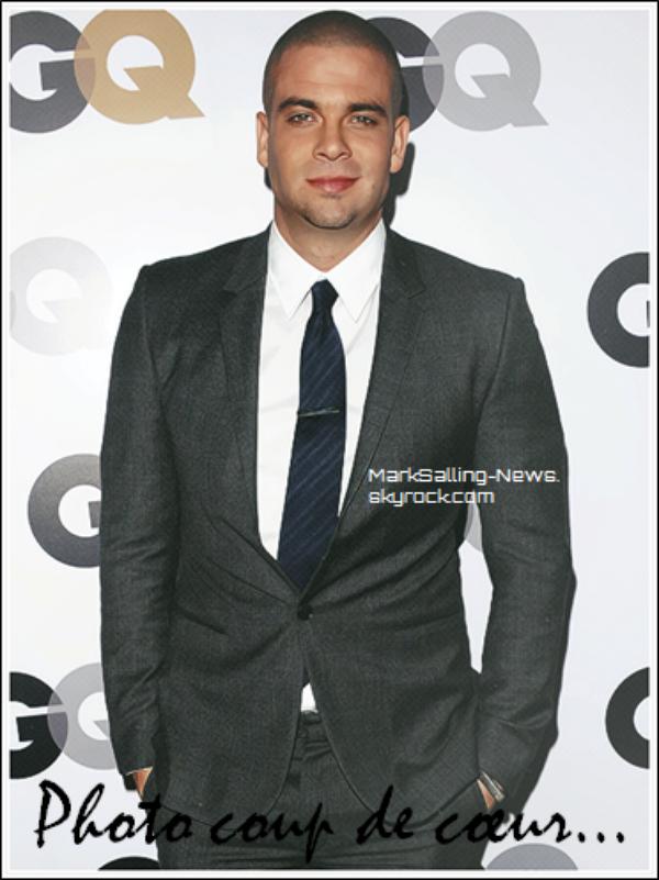 13/11/12 Mark était présent au GQ Men of the Year Party au Chateau Marmont à Los Angeles + une photo de Mark sur le set de Glee en compagnie de Jacob Artist