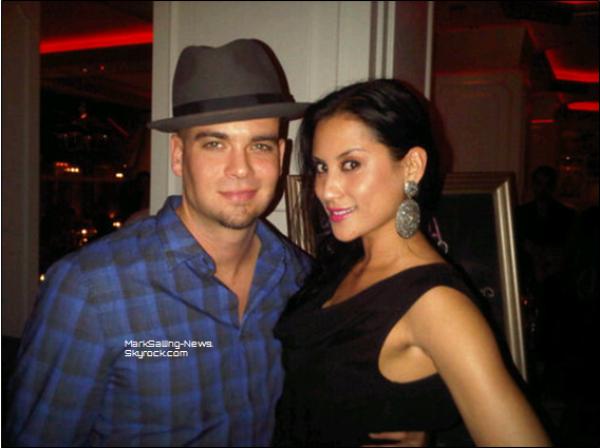 Suite des photos de soirées et sorties de Mark + photos avec sa copine et une vidéo qui date de mai 2012