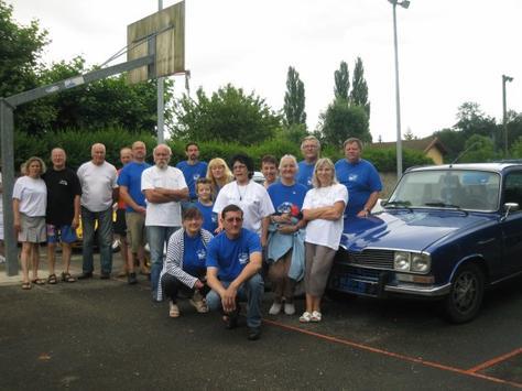 Rassemblement Bleu 16, le 8 juillet 2012