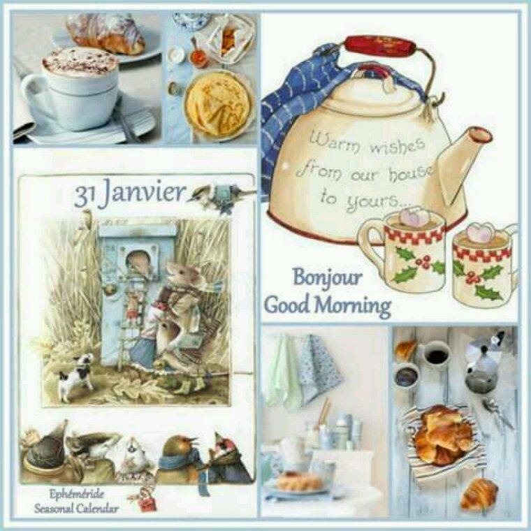 Mardi DÉJÀ DERNIER JOUR DE JANVIER