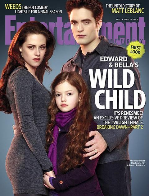 Breaking Dawn Part 2 dans le nouveau numéro du magasin américain Entertainment Weekly.